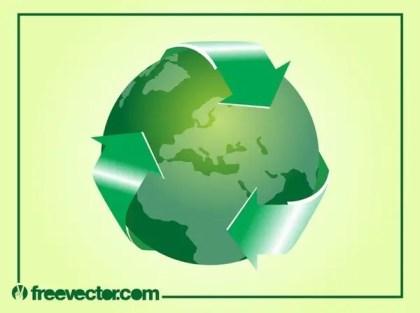 Green World Free Vector