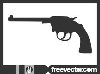 Gun Silhouette Free Vector