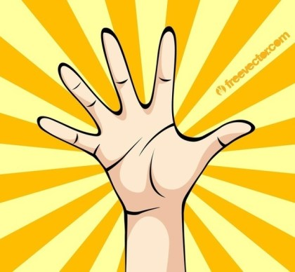 Hand Palm Free Vector