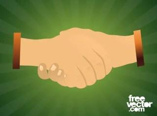 Handshake Free Vector