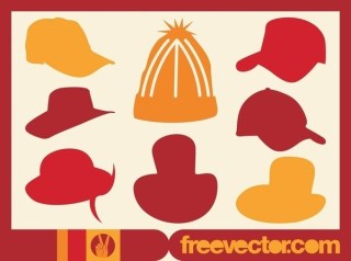 Hats Free Vector