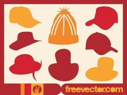 Hats Free Vector