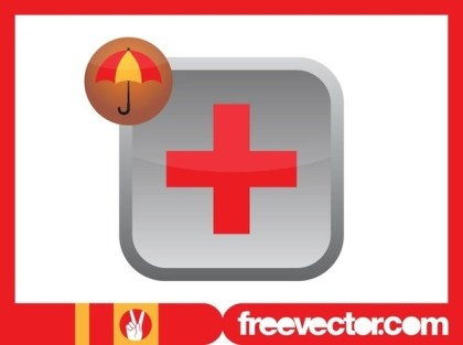 Health Insurance Icon Free Vector