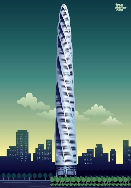 High Rise Free Vector