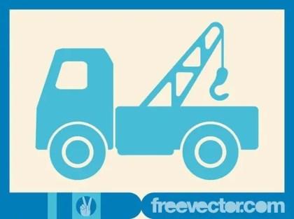 Hooklift Truck Free Vector