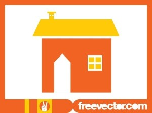 House Icon Image Free Vector