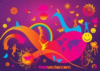 Joy Free Vector