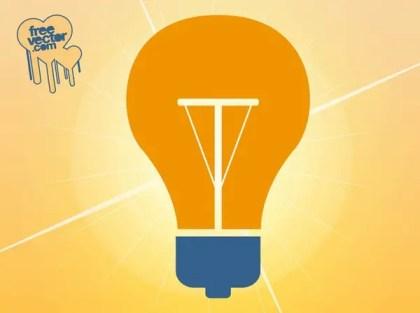 Lamp Icon Free Vector