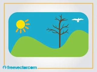 Landscape Free Vector