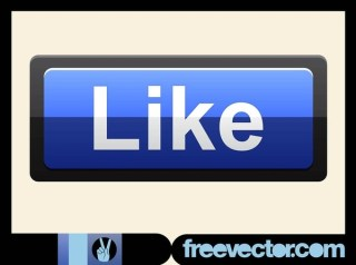 Like Button Free Vector