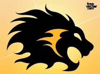 Lion Tattoo Free Vector