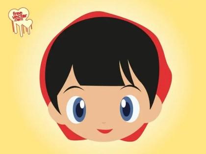 Little Red Riding Hood Cartoon Free Vector