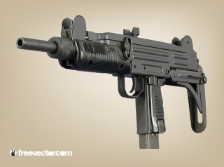 Machine Gun Free Vector