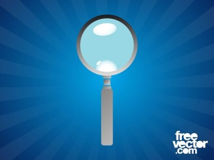 Magnifying Glass Design Free Vector