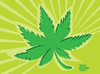 Marijuana Icon Free Vector