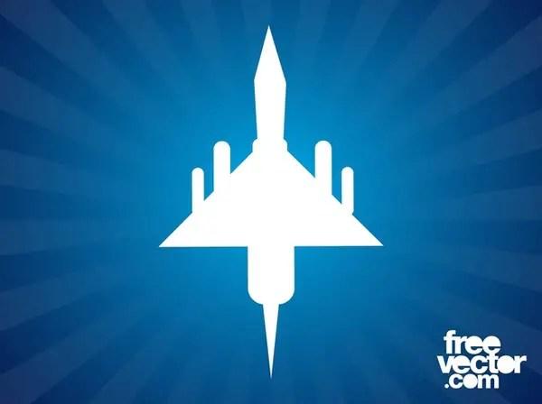 Military Plane Free Vector