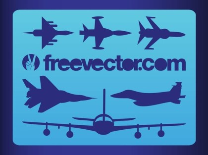 Military Planes Free Vector