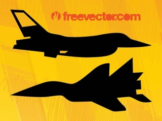 Military Planes s Free Vector