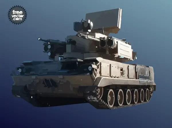 Military Tank Free Vector