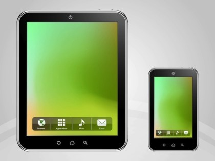 Mobile Devices Free Vector