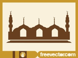 Mosque Free Vector