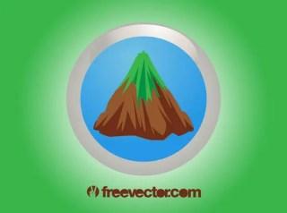 Mountain Icon Free Vector