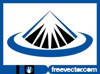 Mountain Top Icon Free Vector