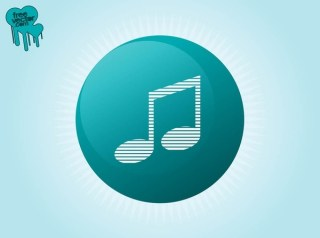 Music Button Free Vector