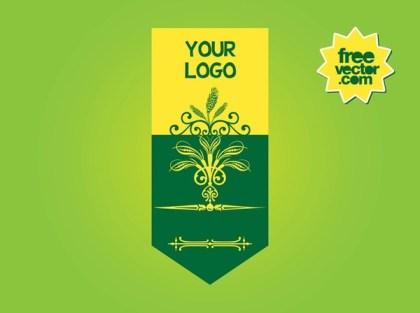 Nature Banner Free Vector