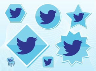 New Twitter Bird Free Vector