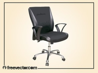 Office Desk Chair Free Vector