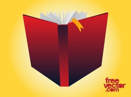 Open Book Free Vector