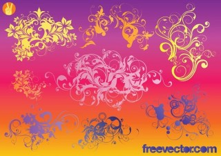 Ornaments s Free Vector