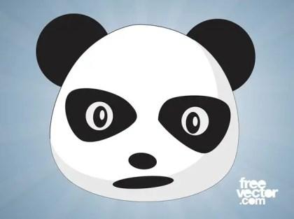 Panda Cartoon Free Vector