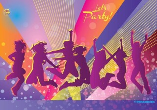 Party Free Vector