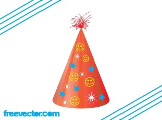 Party Hat Free Vector