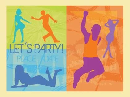 Party Invitation Free Vector