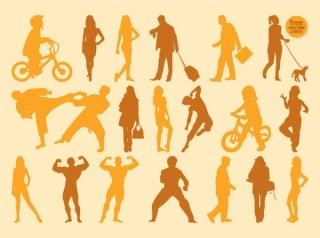 People Free Vector