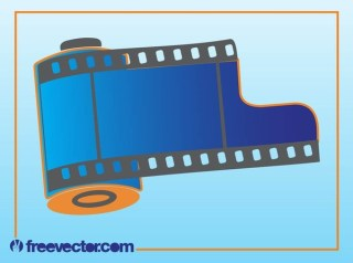 Photo Film Free Vector
