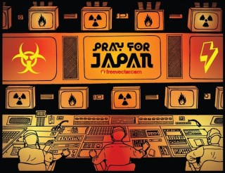 Pray For Japan Free Vector