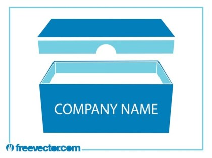 Product Packaging Box Free Vector
