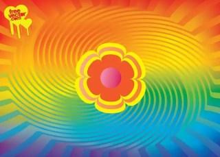 Rainbow Colors Free Vector