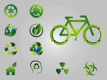 Recycling Logos Free Vector