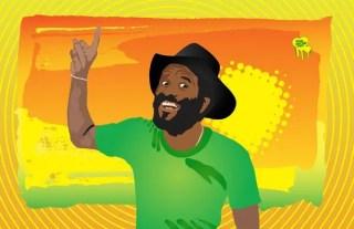 Reggae Man Free Vector
