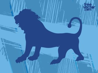 Roaring Lion Free Vector