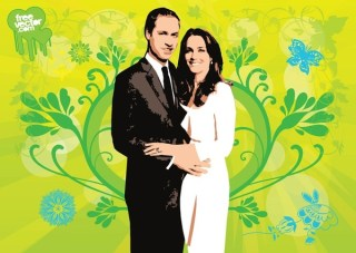 Royal Wedding Free Vector