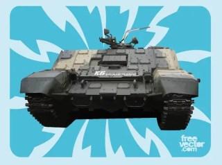 Russian Tank Free Vector