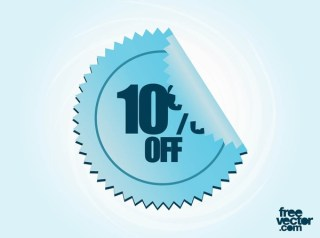 Sale Label Element Free Vector