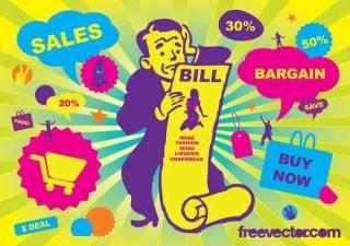 Sales Free Vector