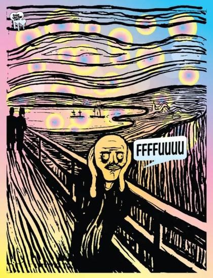 Scream Troll Free Vector